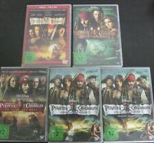 Fluch der Karibik 1-4 1 2 3 4 + Bonus    5 DVD