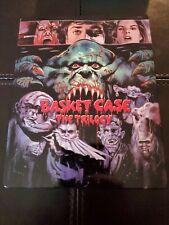Basket Case Trilogy UK Import Limited Edition Steelbook Bluray