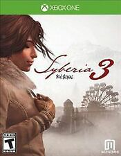 Syberia 3 (Microsoft Xbox One, 2017) Brand New Factory Sealed