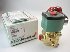 ASCO 8342G001-120/60 Brass Body Direct Acting General Service Solenoid Valve T64