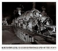 TRAIN ART PRINT O. Winston Link  Shaffer's Crossing 1955 Roanoke Virginia Poster