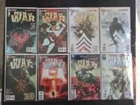 Men of War Comic Book Lot, 8 Issues, New 52  NM, Vol. 2