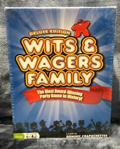WITS & WAGERS Family Deluxe Edition Brand NEW Sealed