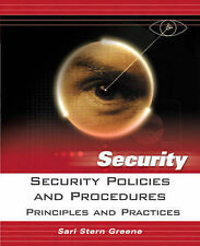 Security Policies and Procedures: Principles and Practices (Prentice-ExLibrary