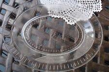 Antique EAPG Pattern Eureka Glass platter,[10-2]
