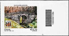 Italia 2014 - La Via Claudia Augusta - Codice a Barre 1586