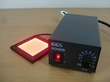 CCS PSB-1012-WW LED CONTROLLER LFL-50 FLAT RED LIGHT BACKLIGHT MACHINE VISION