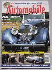 The Automobile magazine 07/2005 featuring Sunbeam Alpine, Bentley