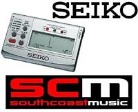 HIGHLY ACCURATE SEIKO SAT501S ELECTRIC ACOUSTIC BASS GUITAR TUNER LCD DISPLAY