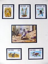 CAPE VERDE Birds on 2 Pages U/M NB3592