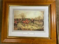 "English Fox Hunting Print - ""The Find"" - Henry T Alken (1810-1894) - Framed"