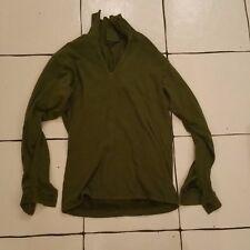 British Army green shirt man's field size 84cm norwegian norgey 8405-99-978-8800