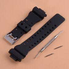 Bracelet de montre pour G Shock GA-100 G-8900 GW8900 16mm Watch Strap Band