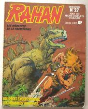 Rahan N° 27 Les Monstres de la Préhistoire CHERET & LECUREUX éd Vaillant 12/1977