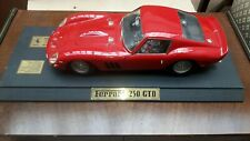 REVELL 1/12 SCALE FERRARI 250GTO  WITH STAND & BOX  WITH PAPER WORK