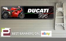 Ducati 996 Motorbike Banner for Workshop, Garage, Pit Lane, 1300mm x 325mm