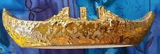 24KT GOLD PLATED SHIP