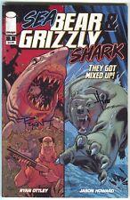 Sea Bear & Grizzly Shark 1 Image 2010 FN Signed Ryan Ottley Jason Howard
