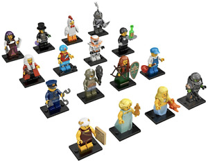 Lego Plumber with Plunger and 100 Money Tile For City System Town Modular
