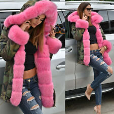 f982d3d77b9 New Camouflage Jacket Women s Army Parka Winter Thick Warm Hooded Fur Lined  Coat