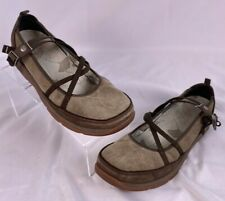Chaco Mary Jane Sport Shoes Women's US Size 9 Brown Suede MJ
