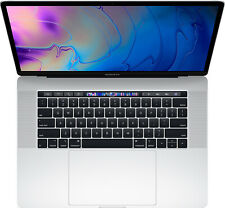 MacBook Pro 15 Touch Bar Silver 2019 2.6GHz i7 16GB 256GB - NEW & SEALED in Box!