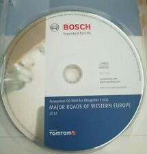 Navigation CD  Major Roads Europe  2012  E E1 E2 Ford EX VW RNS 300 Audi BNS 5.0