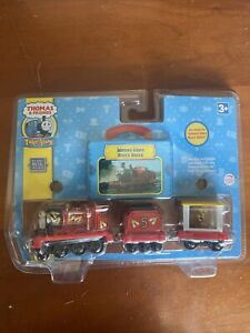 Take Along Thomas & Friends JAMES GOES BUZZ BUZZ Magnetic Die-Cast NEW! 2006