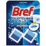 BREF DUO CUBES FORMULA CISTERN BLOCK TOILET BOWL BATHROOM CLEANER DEORISER 100g