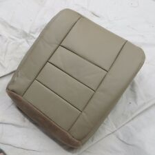 03- 07 Ford Excursion  Diesel Passenger side Bottom  Leather seat cover ( TAN )