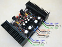 LM3886 BTL 1.0 Full Balance Pure After Amplifier Board Kits Heatsink Protection