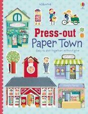 Usborne Press-Out Paper Town by Fiona Watt BRAND NEW BOOK (Hardback, 2015)