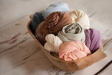 Various Colours|Fine Jersey Super Stretch Wraps| Newborn Photography- Photo Prop