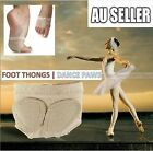 1 Pair Foot Thongs Forefoot Dance Paws Cover Toe Undies Mesh Half Lyrical Shoes