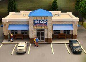 HO Scale (1:87) Building/Breakfast Restaurant/Scratch Built/Layout Ready