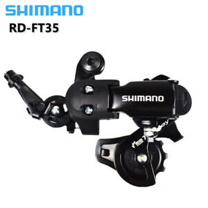 SHIMANO TOURNEY RD-FT35 6/7Speed MTB Folding Bike Rear Derailleur Short Cage