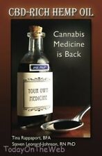 CBD Rich Hemp Oil Cannabis Medicine is Back by Steven Leonard-Johnson