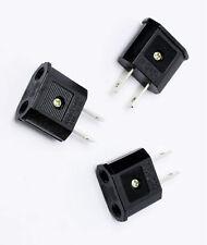 1ea 110V Flat Plug Adapter EU Europe to US Canada 110V-220V Travel KOREA hara