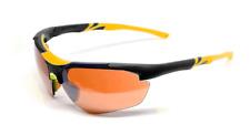 Maxx 2 HD Sunglasses black yellow golf driving lens brown high definition LT