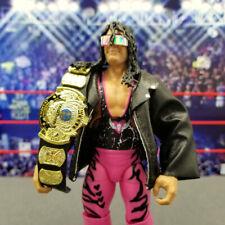 WWE Mattel Ultimate Elite Bret Hart Figure w/ Defining Jacket Belt F55