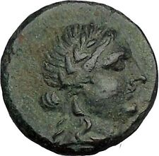 ALABANDA in CARIA 189BC Apollo Lyre Authentic Original Ancient Greek Coin i52697