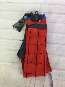 Marvel Spider-Man Character Themed Lace Trim Cape Knee High Socks 1 Pair NEW