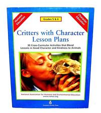 BOOK SB Animal Welfare League Benefit CRITTERS WITH CHARACTER LESSON PLANS 5 & 6