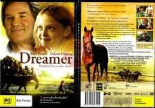 DREAMER Dakota Fanning Kris Kristofferson horse NEW DVD (Region 4 Australia)