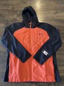 Under Armour UA Mens Full Zip Sprint Hybrid Jacket Sz 3XL 1355118 690