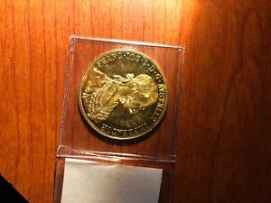 Austria 1915 Gold 4 Ducat Coin Uncirculated Great Quality