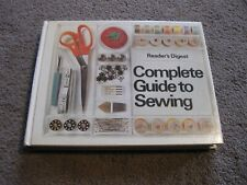 New listing 1976 readers digest complete guide to sewing book
