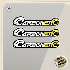PEGATINA KIT CARBONETIC CARBON RACE  VINILO VINYL STICKER DECAL ADESIVI