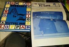 1977 BURBANK HIGH SCHOOL Yearbook California + Burbank Hi-Life Paper Sr Edition