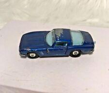 Matchbox Lesney 14 Iso Grifo Dark Blue w/ Light Blue Interior Vintage